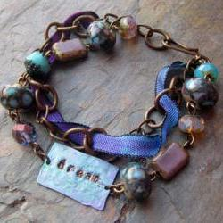 Dream Bracelet AS SEEN IN Bead Trends Magazine